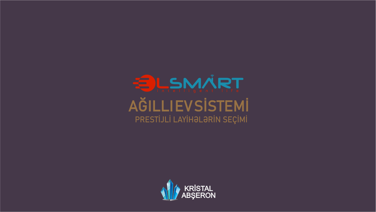 As ALLSMART TECHNOLOGIES LLC, we present to you the SMART HOUSE SYSTEMS we have installed in Javahir Residence, a new project of Crystal Absheron.